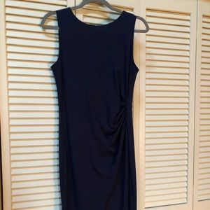 Worn once Kenneth Cole navy blue dress